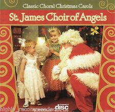 St. James Choir of Angels Classic Choral Christmas Carols (CD 2006 PC Treasures)