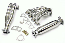 88-00 Honda Civic EF EG EK EM Header 4-2-1 + High Flow Cat Stainless Steel SOHC