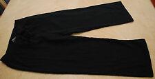 Champion Juniors XS Black Capri Pants Stretch Yoga Pant Drawstring Cropped BTS