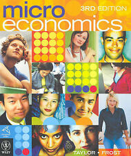 Microeconomics by John B. Taylor, Lionel Frost (Paperback, 2005)