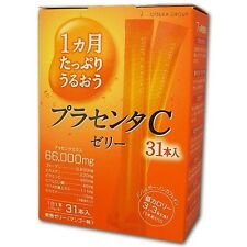 Earth Biochemical Placenta C Jelly 10g x 31 Stick type Jelly Made in japan