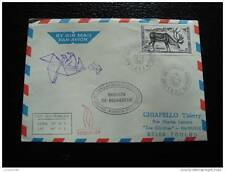 TAAF lettre 22/4/87 - timbre stamp - yvert et tellier n°123 (cy6)
