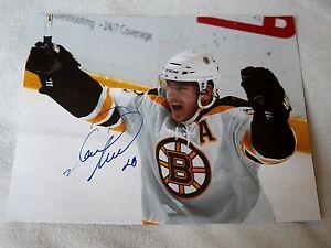 Boston Bruins Mark Recchi Signed 11x14 Photo Auto
