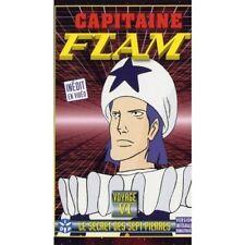 Cassette vidéo VHS Capitaine Flam le secret des 7 pierres /BB9