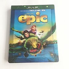 Epic Blu-ray (3D+2D) Steelbook [France] Lenticular Magnet Edition! RARE! MINT!