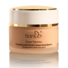 Tiande Sheep Placenta Natural Look Foundation Cream 50g 10305