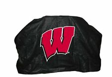 """UNIVERSITY OF WISCONSIN 59"""" Barbecue BBQ Heavy Duty Vinyl Gas Grill Cover"""