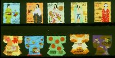 G169 Japanese stamp 2017 traditional costume culture used