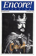 "Robert Goulet ""CAMELOT"" Patricia Kies / Lerner & Loewe 1994 Columbus Playbill"