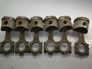 BMW E23 E24 E28 M30B28 ENGINE PISTONS AND ROD