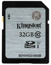 Kingston 32GB SDHC Class 10 Memory Card For Nikon Coolpix L330