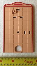 Playmobil Victorian Mansion Bathroom Toilet Back Wall 5300 5301 5324