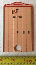 Playmobil Victorian Mansion Bathroom Toilet Back Wall 5300 5301 5324