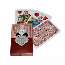 Hungarian playing cards - magyar kártya - 32 cards Piatnik 1813 Red