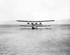 FOUR ENGINE KENT FLYING BOAT SEAPLANE 1935 8x10 SILVER HALIDE PHOTO PRINT
