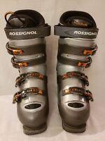 Rossignol Salto X Ski boots Silver/Gray/Black/Orange 26.5 US Men's SIZE 8-8.5