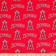 Los Angeles Angels Fabric MLB  Baseball Cotton New  Red White  BTFQ Lampshade ?