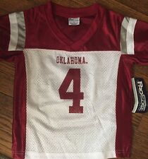 NWT Oklahoma Sooners Toddler Jersey Shirt  2T