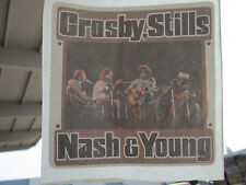 Crosby stills Nash Young  T-shirt  Rock iron on transfer for Tee vintage #15