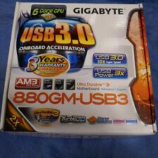 Gigabyte GA-880GM-USB3, V 1.0 Socket AM3 AMD Motherboard *Mint*