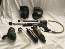 USED Tippmann Paintball gun and accessories kit