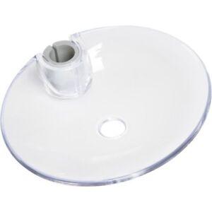 Bremermann Distributeur de savon xl avec environ 500 ml Quantité de remplissage plastique rectangulaire blanc