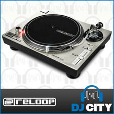 Reloop RP-7000mk2 Silver DJ Turntable Vinyl Scratch Direct Drive Record Player