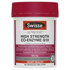 Swisse Ultiboost 300mg Co-Enzyme Q10 Capsule - 90 Count