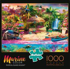 Buffalo Games Marine Color Tropical Island Holiday 1000 Piece Jigsaw Puzzle New