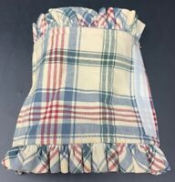 Longaberger Market Day Plaid Basket Handle Gripper 19-1643D