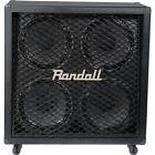 Randall RD412-V30 Diavlo 4x12 Angled Guitar Cab Black for sale