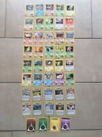 POKEMON TRADING CARD GAME CARTE SET GYM HEROES UNLIMITED ENG ENGLISH WIZARDS