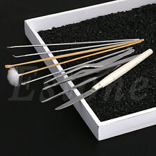 8Pcs Set Ear Wax Remover Health Care Tool Ear Pick Cleaning Cleaner Curette Kit