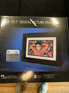 NIB sealed HP 10.1 DIGITAL PICTURE FRAME, MODEL df1010v1 Store up to 1250 pics