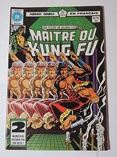 MAITRE DU KUNG FU  94 / 95 B&W French comic Heritage Marvel 107  108