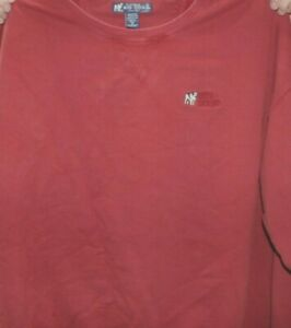 Big Dogs Sweatshirt Pullover RED Size 3X Embroidered