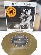 Joy Division- 7 inch GOLD vinyl - Love will Tear us Apart  Ian Curtis New Order