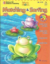 Matching and Sorting FUNTASTIC FROGS Jill Osofsky NEW Book Grades K-2 MATH Learn