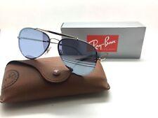 0dbaba34d2 Ray-Ban Flat Lens Blaze Rb3584n 9053 1u Bronze Copper Violet Mirror  Sunglasses