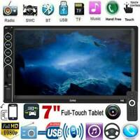 7'' 2 DIN Bluetooth Auto Radio Stereo USB/FM/AUX Touch Screen Car MP5 Player