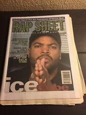 Rap Sheet Magazine- Ice Cube - May 1995 Vol.3, No.5- Rare