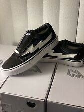 Revenge x Storm vans authentic sneaker BLACK mens size 4/5/5.5