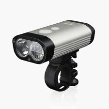 Ravemen PR600 Front Light - USB Rechargeable - Silver FREE P&P