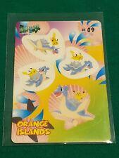 Pikachu Lapras Orange Island Pokemon Bandai Carddass  #09