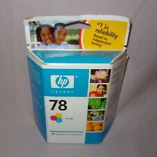HP 78 Tri Color Ink Inkjet Print Cartridge Expired Nov 2007 New Factory Sealed