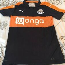 Newcastle United Jersey Puma S Small Blue Orange New NWT 2016 2017 Away