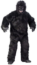 Adult Gorilla Full Suit Costume One Size