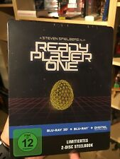 READY PLAYER ONE LIMITED 3D STEELBOOK [BLU-RAY] OVP OOP NEW