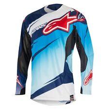 NEU Alpinestars Techstar Venom Cross Shirt blau rot Gr. M = 50  statt 49,95 €
