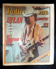 Bob Dylan Meat Loaf Rolling Stone Magazine  issue # 278 November 1978